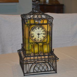 Very Unique Clock/Birdcage